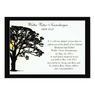 Death Announcement Cards, Photocards, Invitations & More