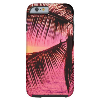 Sunset Tropical Setting Hawaii Tough iPhone 6 Case