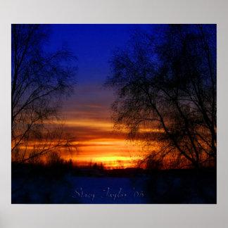 Sunset Valentine Poster