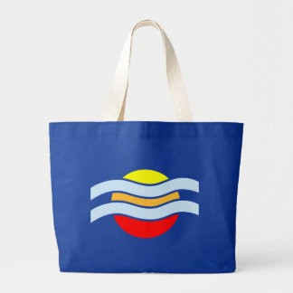 Sunset vapor sunset haze tote bag