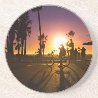 sunset Venice Beverage Coasters