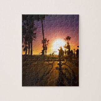 sunset Venice Jigsaw Puzzle