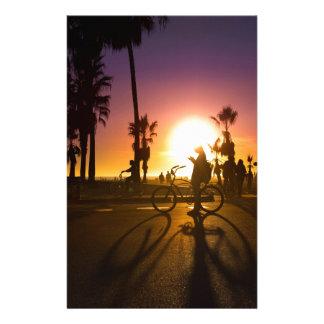 sunset Venice Stationery