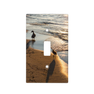 Sunset Walk With Mommy Light Switch Cover