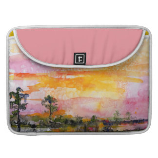 Sunset Watercolor Feminine Mac Book Sleeve Sleeve For MacBooks