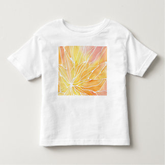 Sunset Watercolour Marble Break Toddler T-shirt
