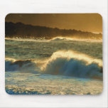 Sunset Waves Mouse Mat