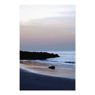 Sunset White Water Stationery