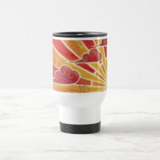 Sunset 'wide' travel/commuter mug