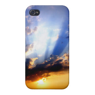 Sunset with Clouds, Beautiful Sky iPhone 4/4S Covers