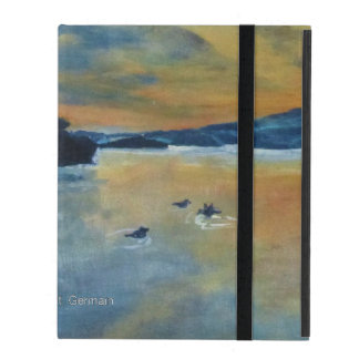Sunset with Ducks iPad Cases