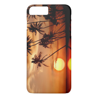 Sunset with Pam Trees iPhone 8 Plus/7 Plus Case