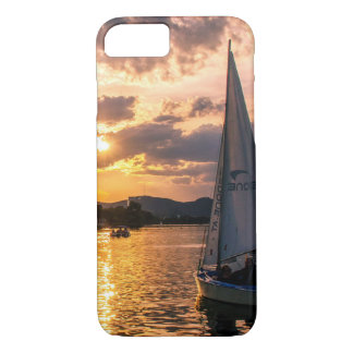Sunset with Sailing Boat iPhone 8/7 Case