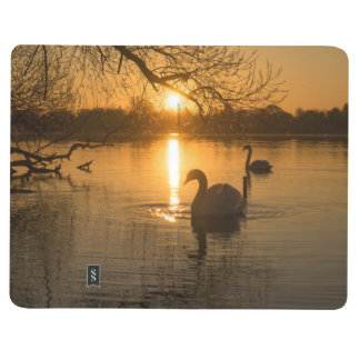 Sunset with Swan Journal