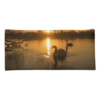 Sunset with Swan Pencil Case
