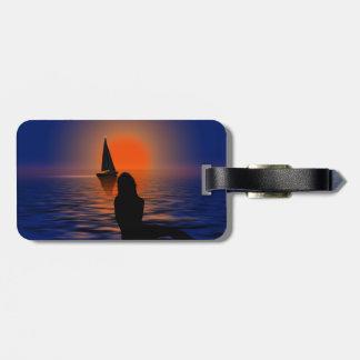 Sunset World Travel Tag