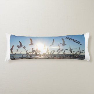 sunset yoga room pillow
