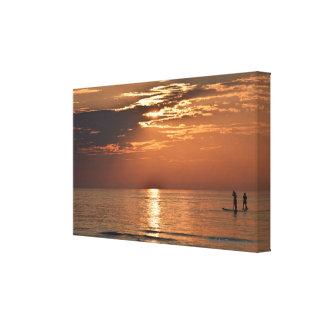 SunsetCanvas Canvas Print
