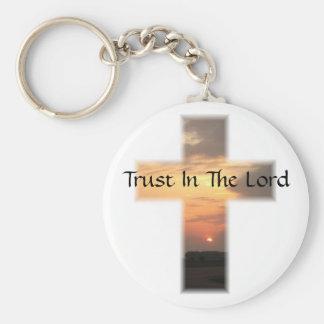 SunsetCrossTrust Keychain