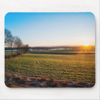 Sunsets happy mouse pad