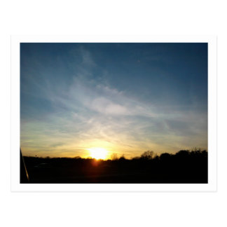 Sunsets in Austin Postcard