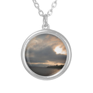 Sunsets Silver Plated Necklace