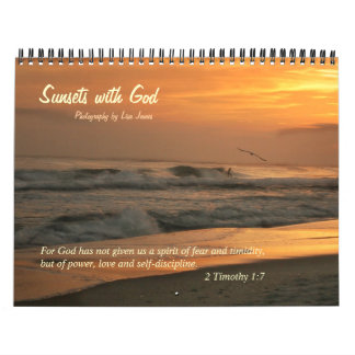 Sunsets with God Wall Calendars