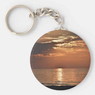 sunsetsomewhere.JPG Keychain