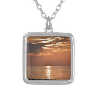 sunsetsomewhere.JPG Silver Plated Necklace