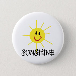 Sunshine 2 Inch Round Button