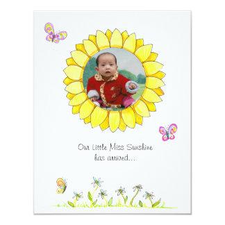 Sunshine Adoption Announcement