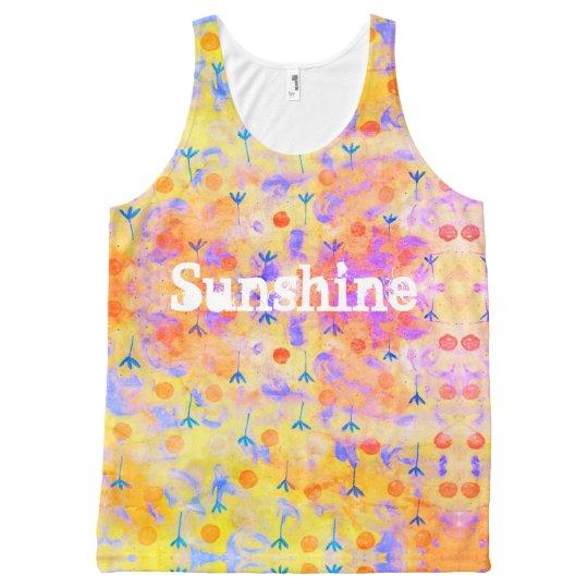 Sunshine All-Over-Print Tank Top