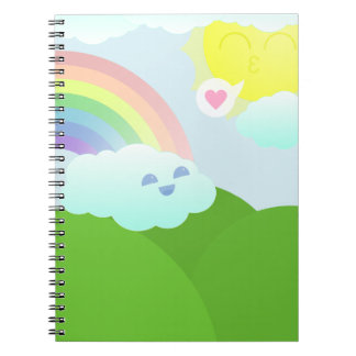 Sunshine and Cloud Notebook