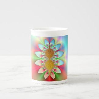 Sunshine and Flowers Fractal Mug