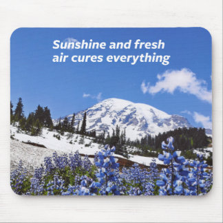 Sunshine and Fresh Air Mouse Pad