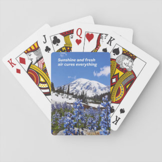 Sunshine and Fresh Air Poker Deck