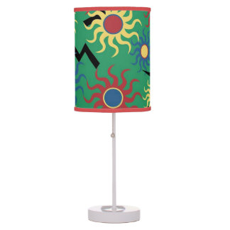 Sunshine and Lightning Bolts Table Light Table Lamp