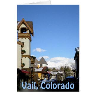 Sunshine and Snow  Vail, Colorado Card