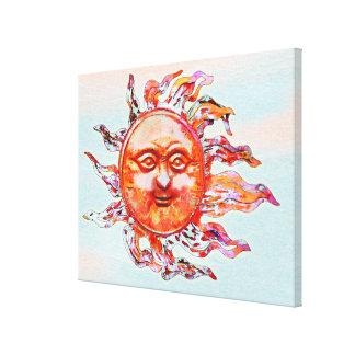 Sunshine and Summer Breeze Canvas Print