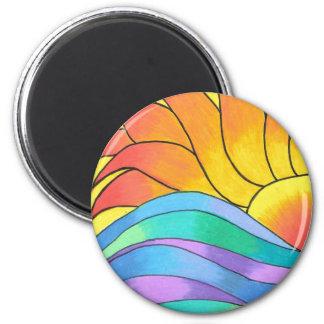 Sunshine and Waves Magnet
