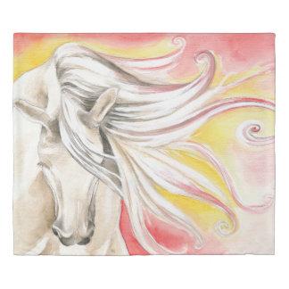Sunshine Andalusian Horse Duvet Cover