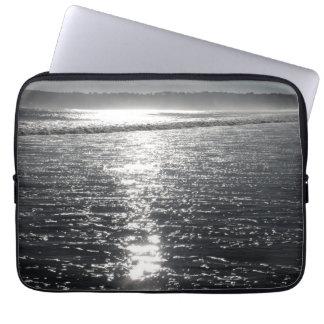 Sunshine at the beach case laptop sleeve