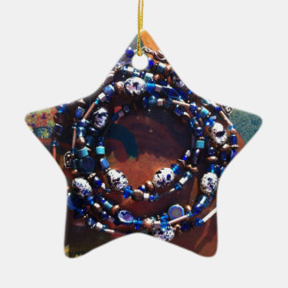 Sunshine Beads Ceramic Star Ornament