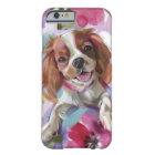 'Sunshine' blenheim cavalier dog art phone case
