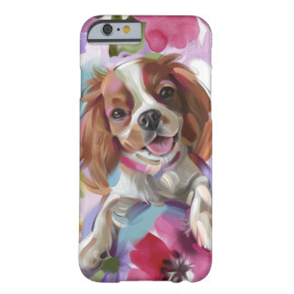 'Sunshine' blenheim cavalier dog art phone case