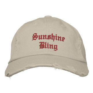 Sunshine Bling Cap Embroidered Hats