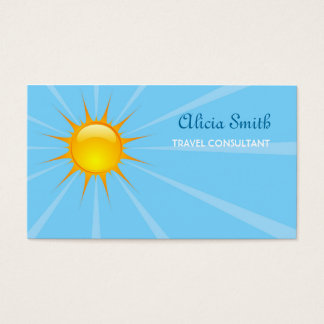 Sunshine Business Card
