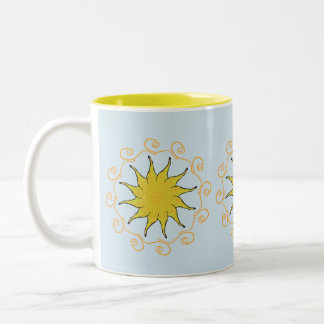 Sunshine coffe tea mug cup