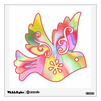 Sunshine Fairies Bird Facing Right Wall Sticker
