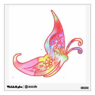 Sunshine Fairies Butterfly Facing Right Wall Decal